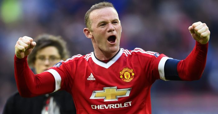 Wayne Rooney: Returned to midfield role at Wembley