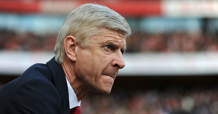 Arsene Wenger: On England's list