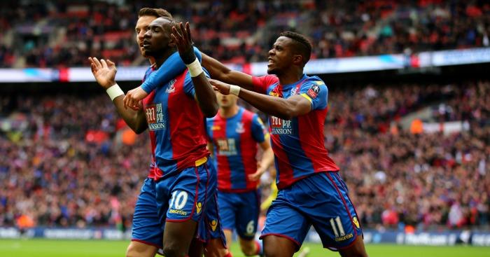 Yannick Bolasie Crystal Palace celebration