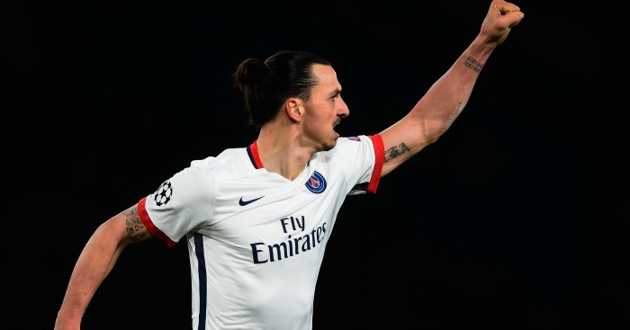 Zlatan: Linked with Premier League switch