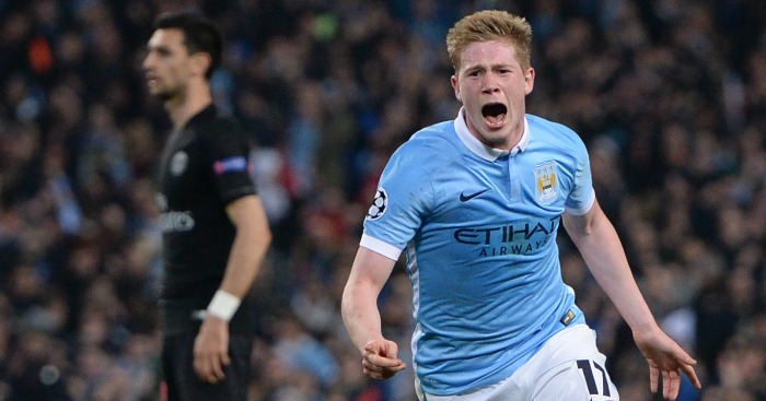 Kevin de Bruyne: Scored Man City's winner
