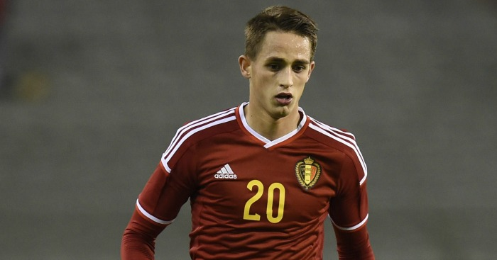 Adnan Januzaj: Limited game time with Belgium