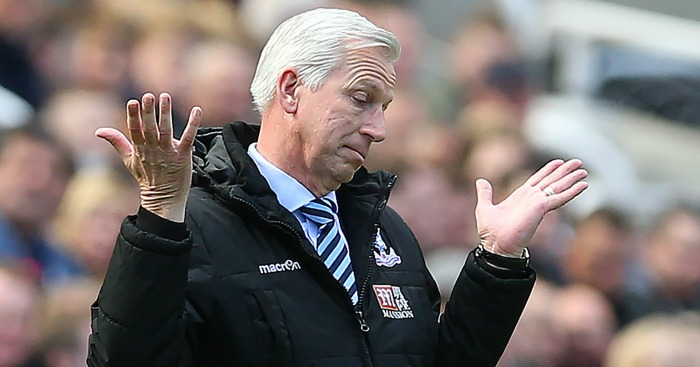 Alan Pardew: Vows to fight on at Palace after Swansea loss.