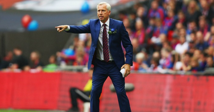Alan Pardew: Manager proud of his players despite loss
