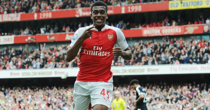 Alex Iwobi: Loving his time at boyhood club Arsenal