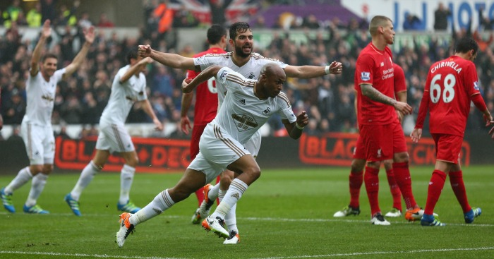 Andre Ayew Swansea Liverpool