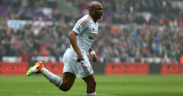Andre Ayew: Looked to secure dream Anfield switch