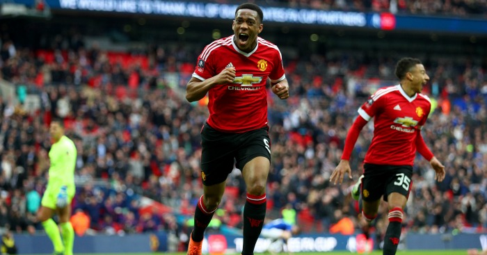 Anthony Martial: Forward has been a shining light this term
