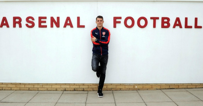 Granit Xhaka: Brings tigerish qualities to Arsenal midfield