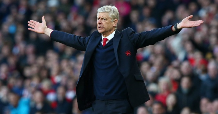Arsene Wenger: Manager celebrating two decades in charge