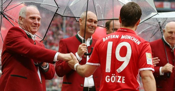 Bayern Munich Mario Gotze