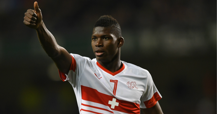 Breel Embolo: Linked with £28m move to Man Utd