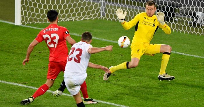 Coke scores Liverpool v Sevilla