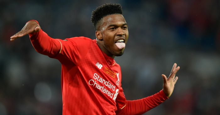 Daniel Sturridge: Striker celebrates opening goal