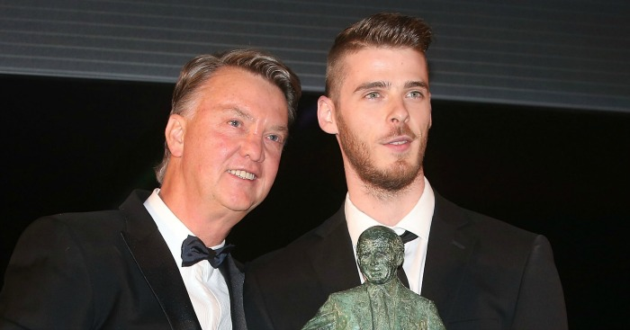 David de Gea: Tipped for United stay by boss LVG