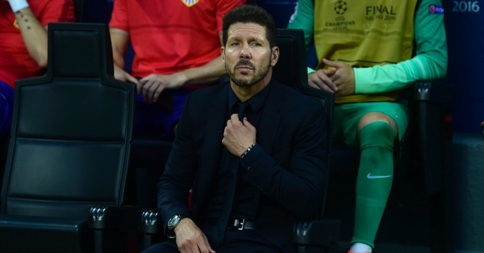 Diego Simeone: Boss previously linked with Premier League