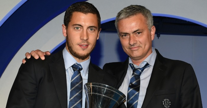 Eden Hazard: Sad to see Mourinho sacked at Chelsea