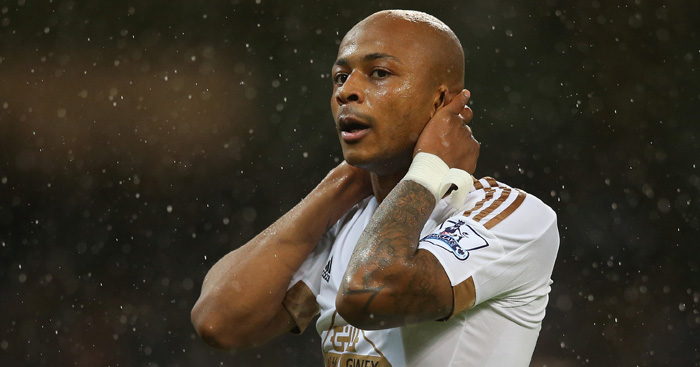 Andre Ayew: Forward reluctant to commit himself to Swansea