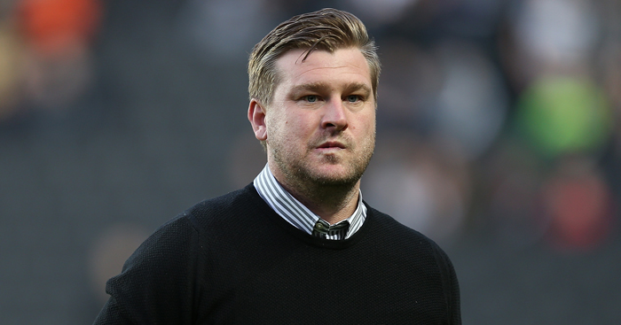 Karl Robinson: Reported to have turned down Leeds offer