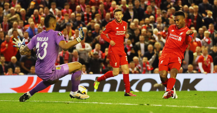 Liverpool: Daniel Sturridge among scorers in 3-0 win.