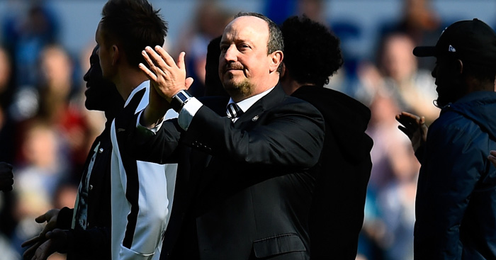 Rafa Benitez: Unable to save Newcastle from relegation
