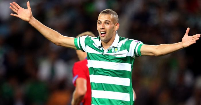 Islam Slimani: Tipped for move to Leicester