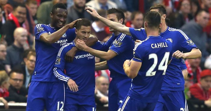 Eden Hazard: Chelsea's best player, according to Nemanja Matic