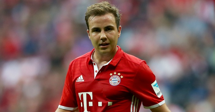 Mario Gotze: Set to stay at Bayern Munich despite Liverpool interest