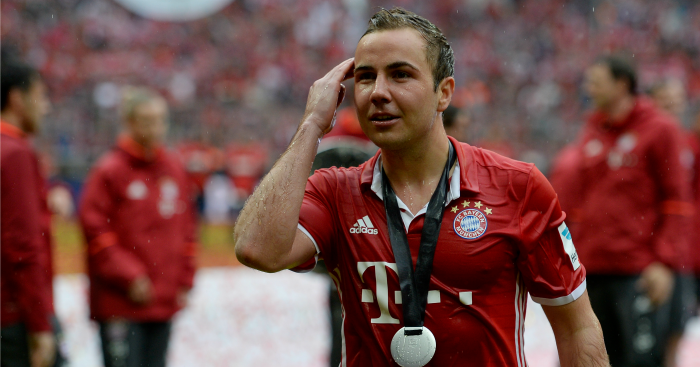 Mario Gotze: Scored twice on Saturday