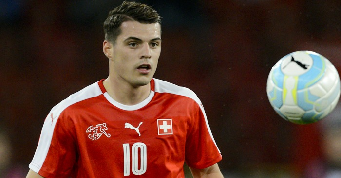 Granit Xhaka: Arsenal move confirmed by Gunners