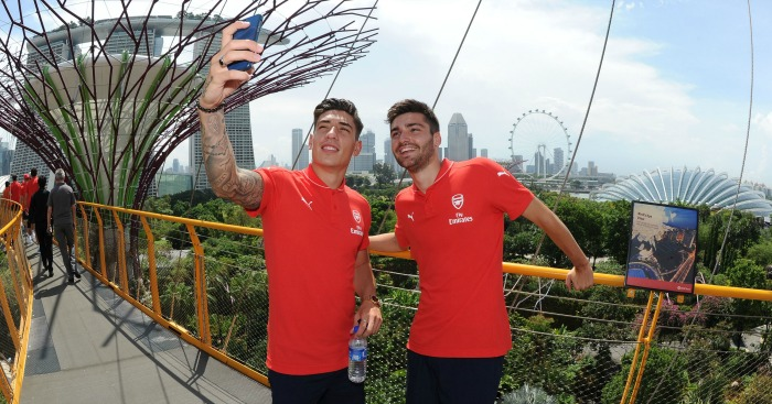 Jon Toral (right): Feels he is ready for Arsenal first team