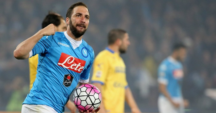 Gonzalo Higuain: Scored a hat-trick last night
