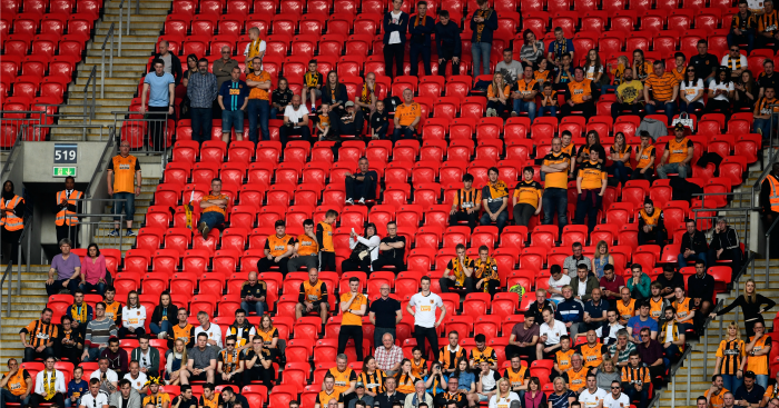 Hull fans Wembley