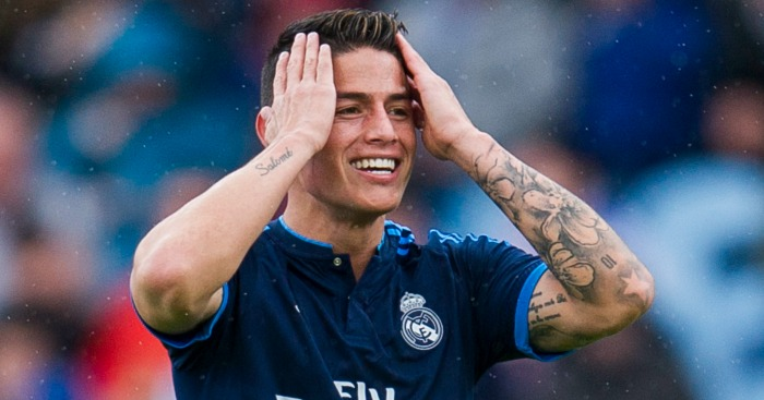 James Rodriguez: Keen to stay at Real Madrid