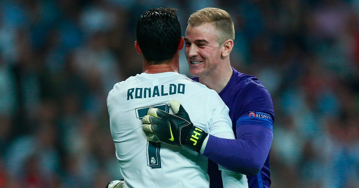 Joe Hart: Desperate to be back in Champions League next season