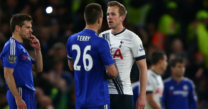 John Terry: Speaks to Harry Kane at full-time