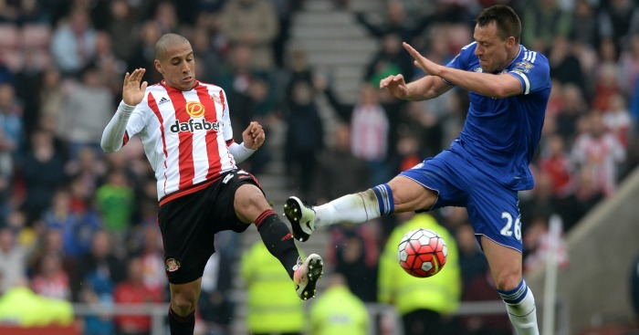 John Terry: Foul on Wahbi Khazri earned second yellow