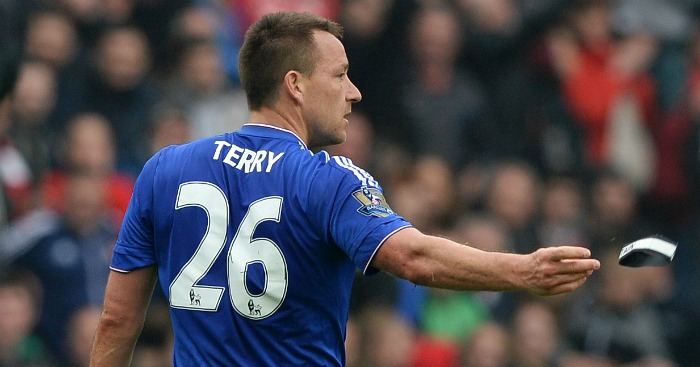 John Terry: Chelsea career set to end with a red card