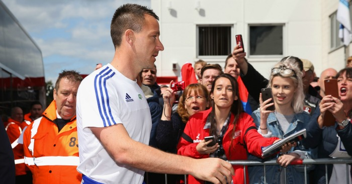 John Terry: Offered a new deal