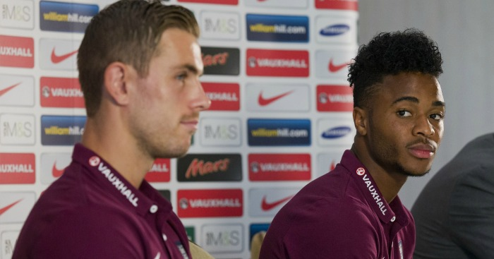 Jordan Henderson & Raheem Sterling: Not guaranteed to make final cut