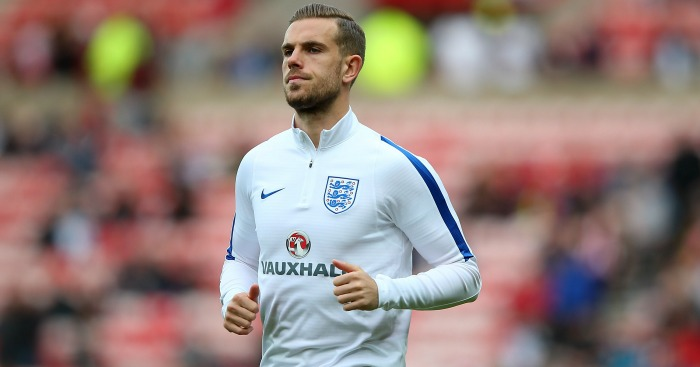 Jordan Henderson: Appeared in last two England games