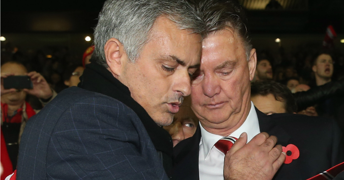 Louis van Gaal: Feels stabbed in the back by Jose Mourinho