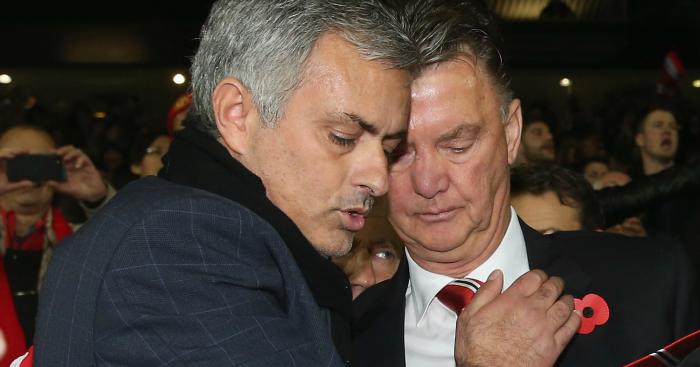 Louis van Gaal: Feels stabbed in the back by Jose Mourinho