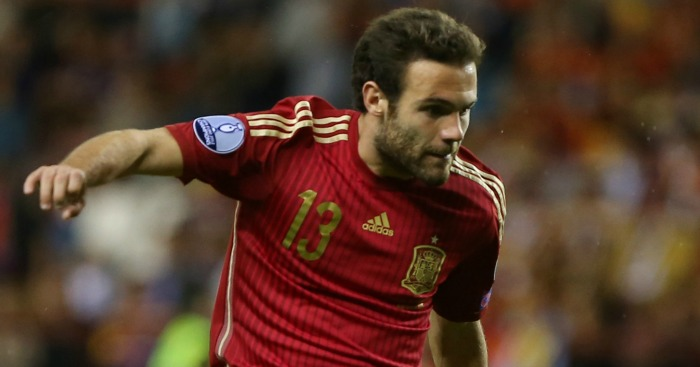 Juan Mata: Not included by Spain