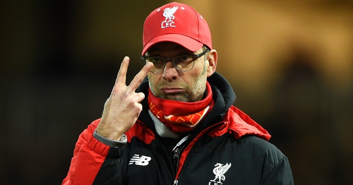 Jurgen Klopp: Tipped for the chop