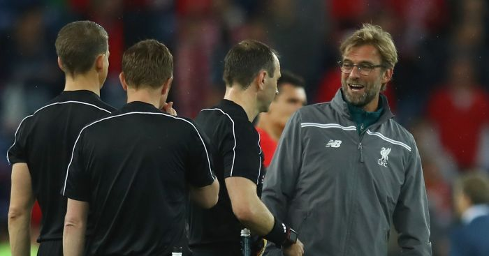 Jurgen Klopp: Critical of referee Jonas Eriksson
