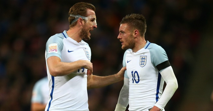 Harry Kane and Jamie Vardy: Can start for England
