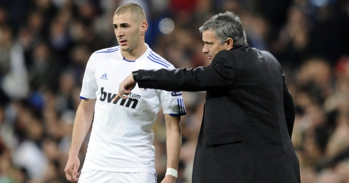 Karim Benzema, Jose Mourinho