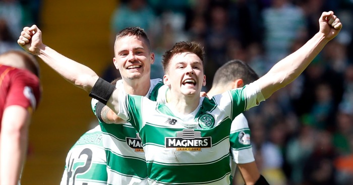 Kieran Tierney: Celtic left-back linked with Arsenal