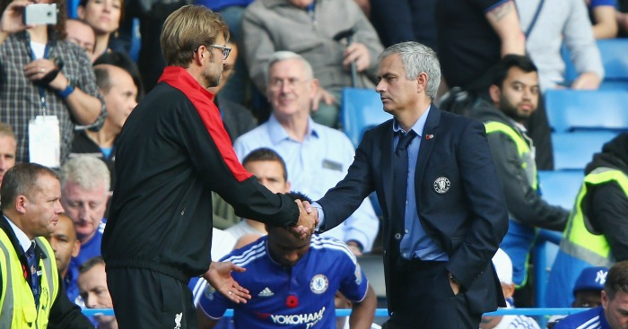 Jurgen Klopp: Will resume rivalry with Jose Mourinho on Monday